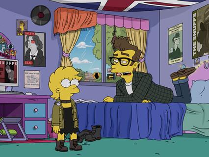 """Empresário de Morrissey, ex-The Smiths, se irrita com personagem em """"Os Simpsons"""""""