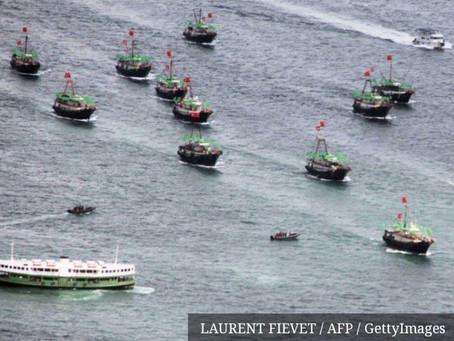 Chile, Colômbia, Equador e Peru alertam a China para ficar fora de suas águas