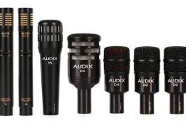 Audix D Series Drum Mic Package
