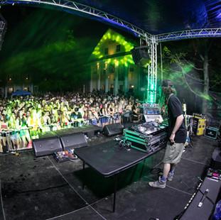 LSDJ live on the main stage