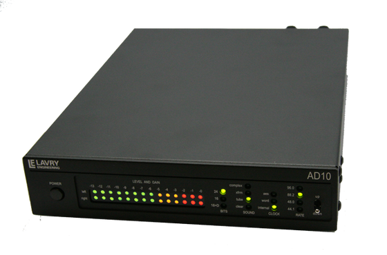 ProSoundNetwork: Two-Channel Analog-to-Digital Converters ADCs