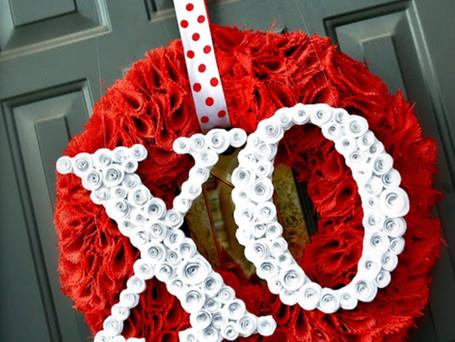 Love on the front door