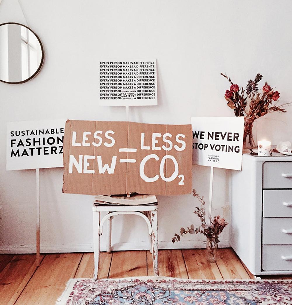 Remote work desk in sustainability