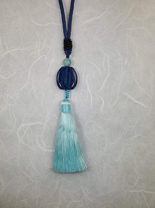 Silk Tassle Necklace
