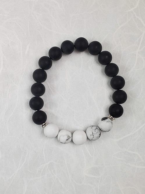 Onyx Stretchy Bracelet