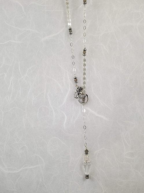 Labradorite and Hemetite Necklace