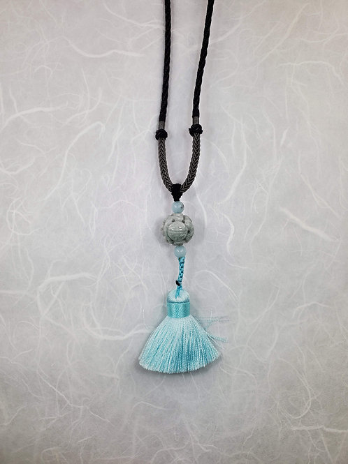 Silk Tassle Necklace