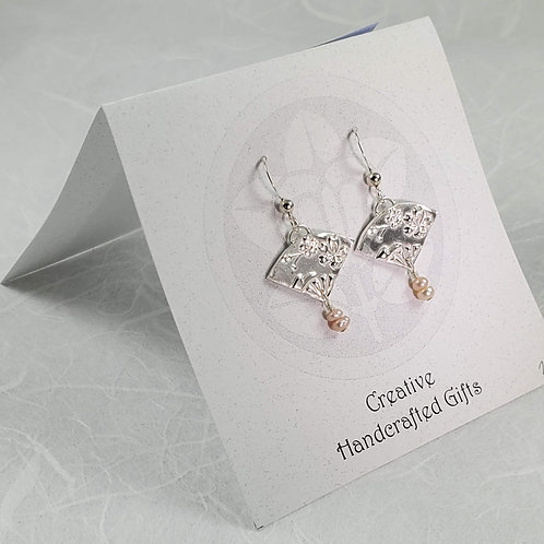Small Fan Earrings