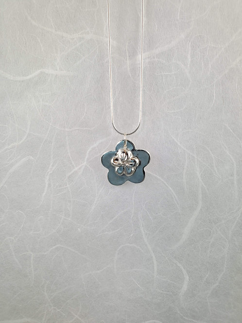Double Flower Necklace