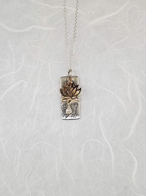 Lotus Design Necklace