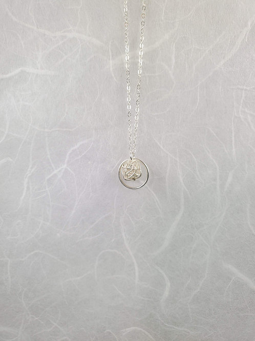 Wrapped Sphere Necklace