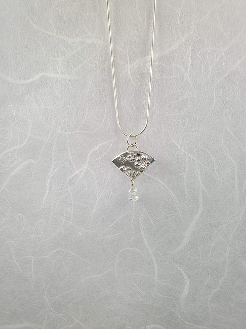 Tiny Fan Necklace