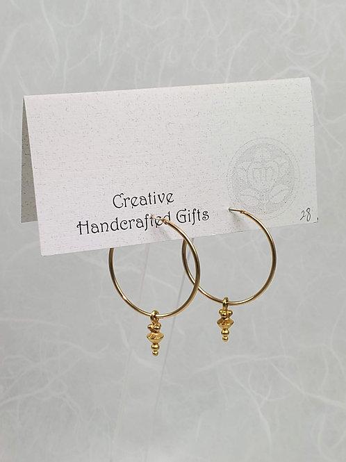 Hoops with Drops Earrings