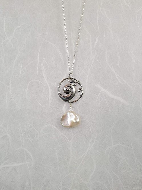 Round Wave Necklace