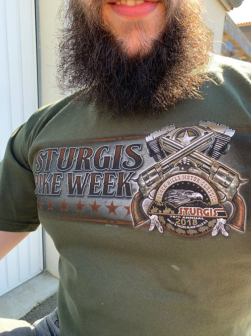 "T-shirt Sturgis 2018 ""Wanted Sign"""