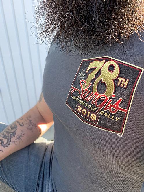 "T-shirt Sturgis 2018 ""78th Logo"""