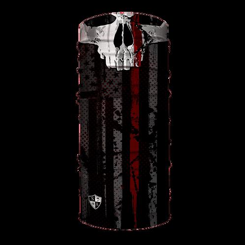 Thin Red Line Skull