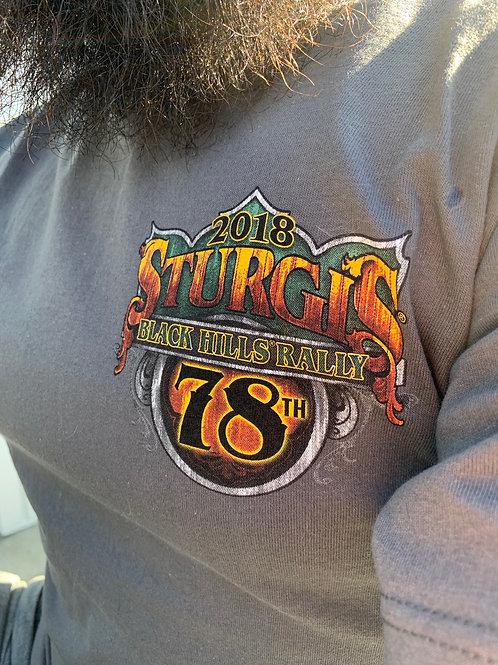 "T-shirt Sturgis 2018 ""Buffalo Crazy"""