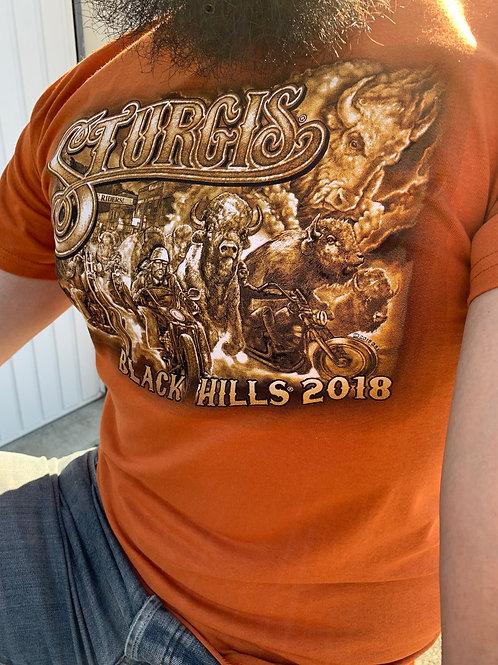 "T-shirt Sturgis 2018 ""Black Hills Skyline"""
