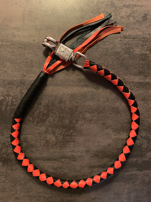 Whips Noir & Orange