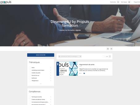 La plateforme Dlearning4U