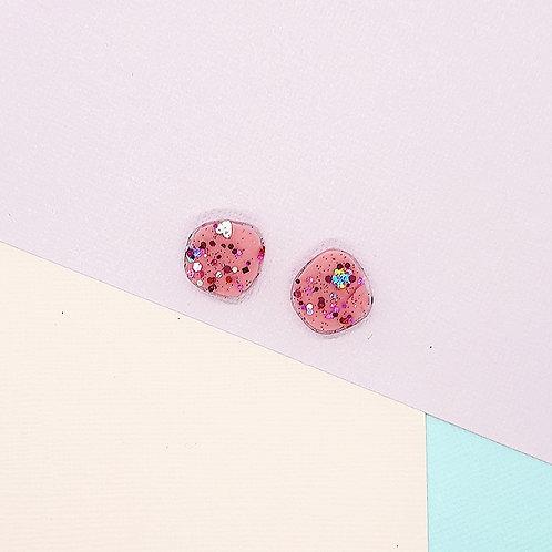 Fairy Floss Valentine Mini Organic Studs #4