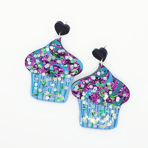 'Celebration Cupcakes' Statement Dangles 2