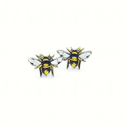 'Brilliant Bee' Mini Studs