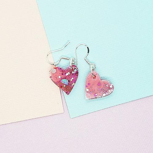 Fairy Floss Valentine Mini Heart Dangles #2