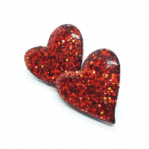 Queen of Hearts Lux Studs