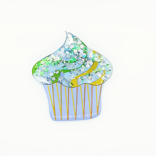 'Celebration Cupcakes' Statement Brooch 1