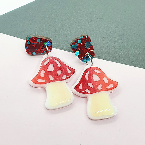 'Terrific Toadstool' Dangles