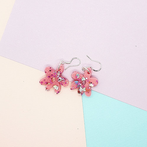 Fairy Floss Valentine Mini Daisy Dangles #1