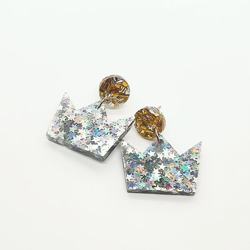 'Odds and Ends' Crown Dangles