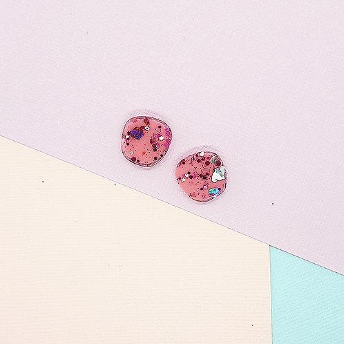 Fairy Floss Valentine Mini Organic Studs #1