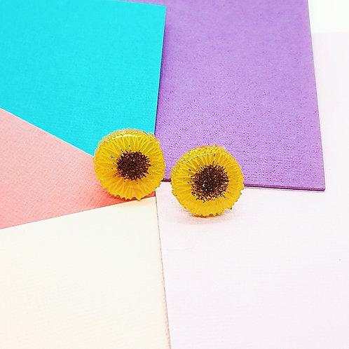'Sunflower' Statement Studs