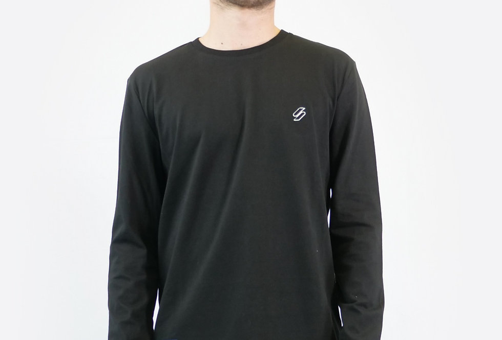 SUPERDRY - Maglia sportstyle essential ls top