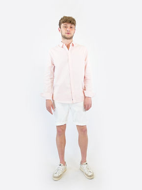 SUPERDRY - Classic twill lite shirt pink