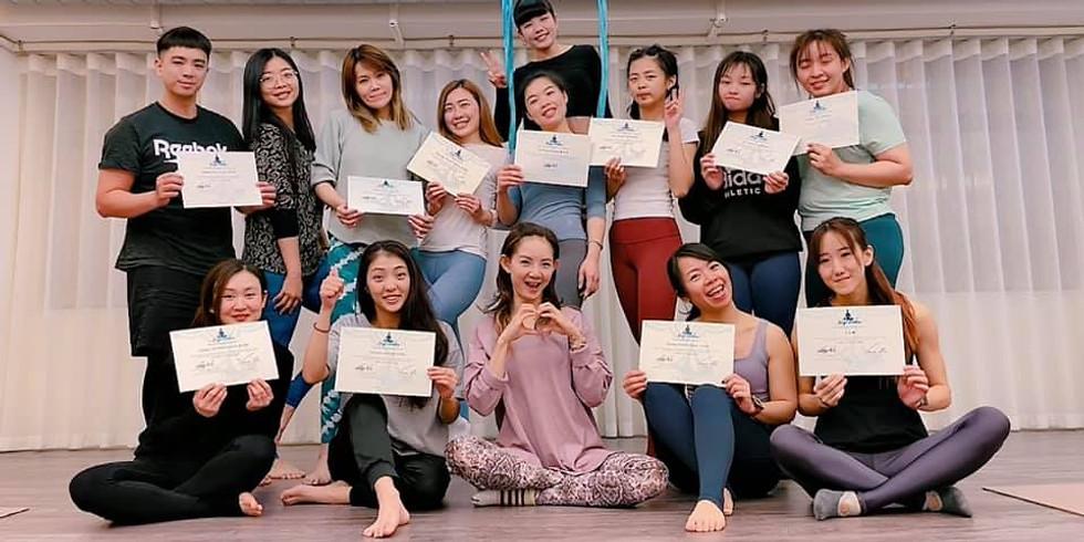 2021空中瑜珈師資訓練班