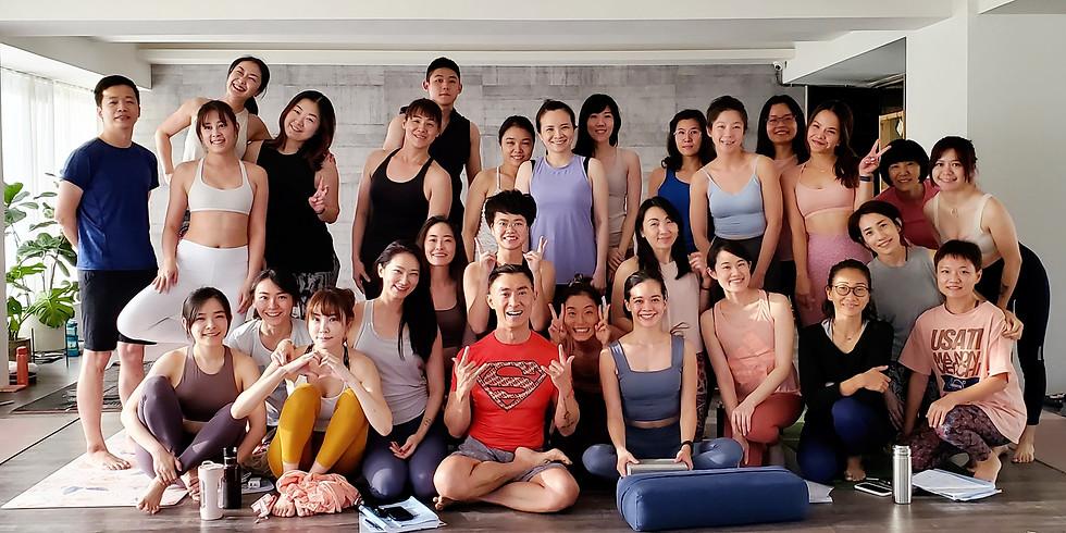 [2021七月台北週間密集班週末] 200小時師資訓練