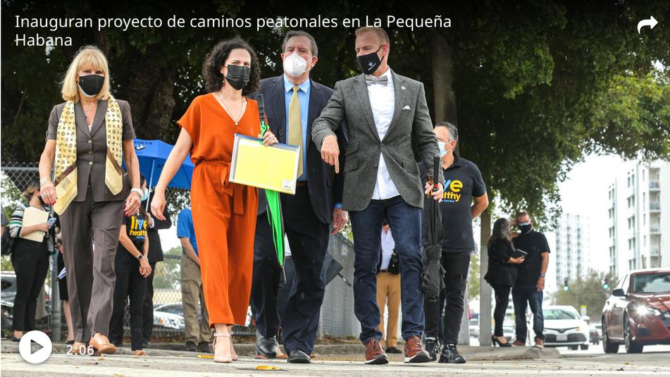 Walking Tour Featured in El Nuevo Herald
