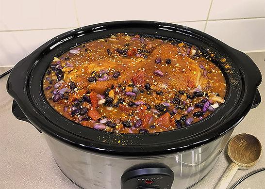 Dukkah Baked Beans - Step 2