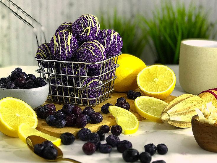 Blueberries & Lemon Pruffles