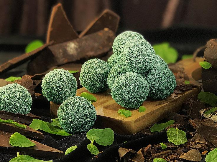Choc Mint Pruffles