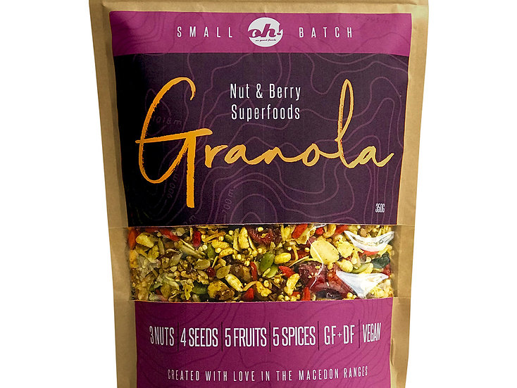 Nut & Berry Superfoods Granola - 350g