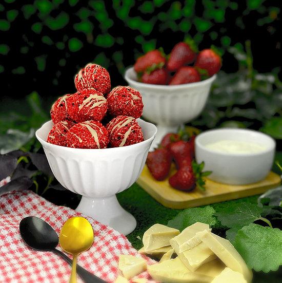 Strawberries & Cream Pruffles