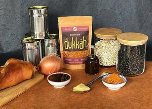 Dukkah Baked Beans - Ingredients