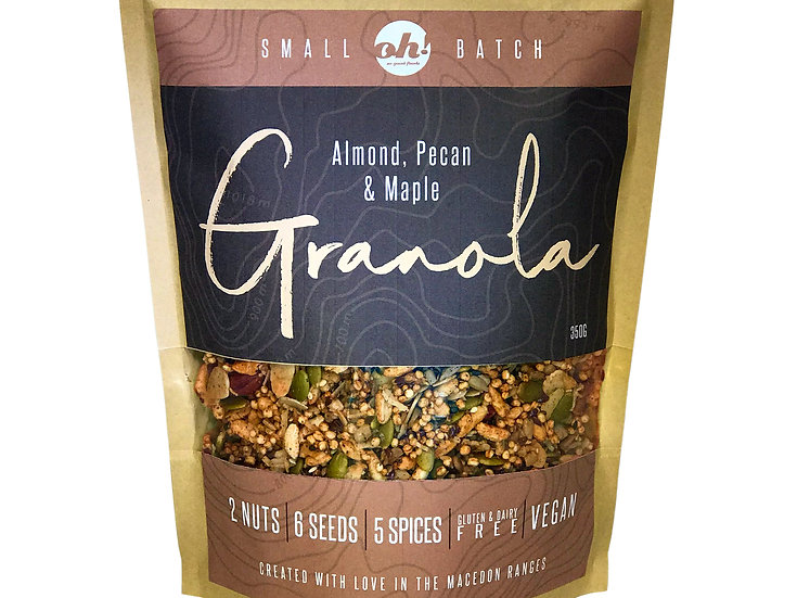 Almond, Pecan & Maple Granola - 350g