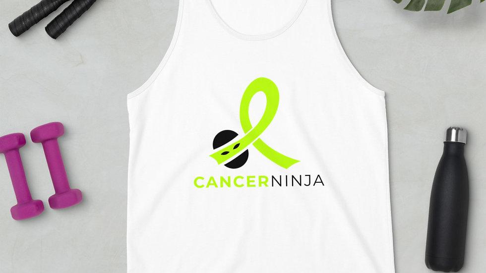 Lymphoma Awareness, Lymphoma Fighter, Lymphoma Warrior, Cancer Ninja Tank Top