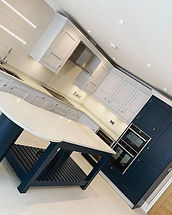 Kitchen recently finished on the Beacons